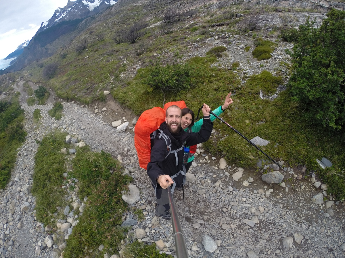 Circuito W : Circuito w torres del paine glaciar grey pack and go